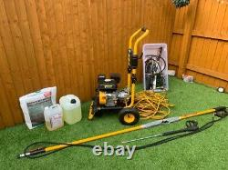 Wolf Power Pressure Washer 3500psi + Accessories + Expandable Jet Lancer £250