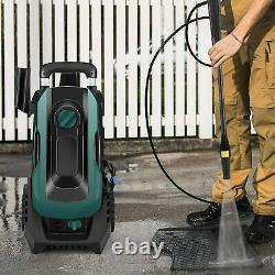 2000psi /135bar Lave-vaisselle Électrique À Haute Puissance Jet De Lavage D'eau Patio Voiture Chaud