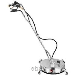 20 Laveuse De Pression Rotary Flat Surface Patio Cleaner 4000psi 3/8 Qc