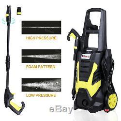 2200w Électrique Laveuse À Haute Pression 2393psi / 165bar Patio Car Jet Power Cleaner