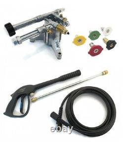2400 Psi Pression Ar Puissance Pompe Lave & Spray Kit Troy-bilt 020344 020344-0