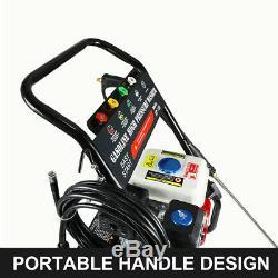 2600psi 2.3gpm Essence / Gaz Nettoyeur Haute Pression High Power Cleaner Machine 212cc