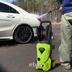 2600psi Lave-pression Électrique 1650w Haute Puissance 135 Bar Jet Cleaner Patio Nouveau