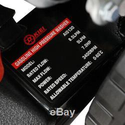 3000psi 7hp Essence Power Jet Nettoyeur Haute Pression Protection Faible Huile Propre Commercial