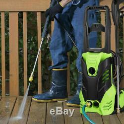 3000psi Électrique Nettoyeur Haute Pression Power Jet Wash Garden Cleaner Voiture 2000w Ue