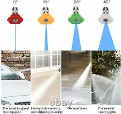 3500 Psi/150 Bar Laveuse À Pression Électrique High Power Jet Water Wash Patio Car