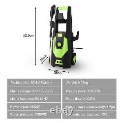 3500 Psi Electric High Pressure Power Power Washer Machine Water Patio Car Jet Cleaner