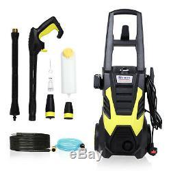 3500psi Électrique Laveuse Laveuse À Haute Pression Cleaner Portable Jardin 2200w