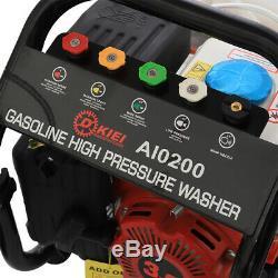 3.0hp Cleaner Essence Puissance De Pression Jet Laveuse Portable 90bar / 1300psi + Gun Hose