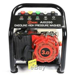 3hp Essence Pression Nettoyeur 1300psi Power Jet Machine À Laver Voiture Jardin Cleaner Uk