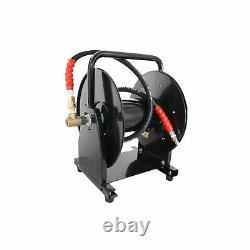 5000 Psi 3/8 X 200' Enrouleur Pour Lave-linge À Haute Pression Et Jetter D'égoutteuse