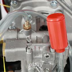 7.0hp 2200psi Moteur De Lave-jet De Pression De Puissance D'essence Avec Le Canon 8m Tuyau Easy Star