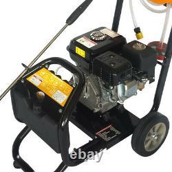 7.5hp High Power Pressure Petrol Jet Washer Nettoyeur Haute Pression 2465psi 170bar