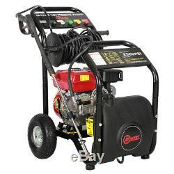 7hp 3950psi Portable Pression Essence Laveuse Jardin Cleaner Power Jet Car Outil Royaume-uni