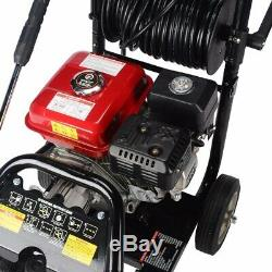 8.0hp 3950psi T-max Pro 28 Mètres De Tuyau À Essence Nettoyeur Haute Pression Puissance Impressionnante