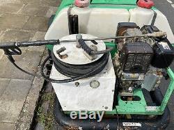 Brendon Bowser Honda 9.0 HP Industrielle Diesel Pression Lave Puissance De Lavage Trailer