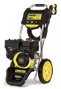 Champion 100382 Laveuse À Haute Pression Essence 2600psi Puissant Nettoyage Extérieur