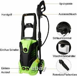 Coocheer Electric Pressure Washer 3000psi Water High Power Jet Wash Patio Car Royaume-uni