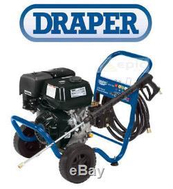 Draper Hd 262 Bar (3800psi) 13hp Essence Commandé Par La Pression Power Jet Laveuse 83819