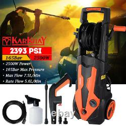 Electric High Power Pressure Washer Power Jet Wash Patio Car Cleaner 2393 Psi Royaume-uni