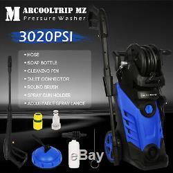 Électrique Nettoyeur Haute Pression 3020 Psi / 208 Bar Power Jet D'eau Patio Cleaner Voiture