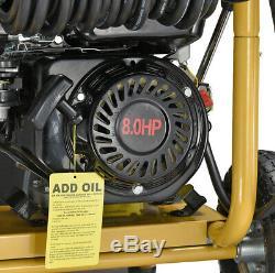 Essence Pression Jet 8hp De Haute Rondelles- Faible Puissance Huile Capteur Agriculture