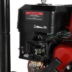 Essence Pression Jet Laveuse À 20 M Dévidoir 2600 Psi 180 Bar 7hp Power Cleaner