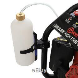 Haute Pression 1590psi / 110bar Essence Laveuse Jet Cleaner Avec Alimentation Barrel