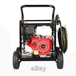 Haute Puissance Puissante Pression Laveuse 15hp Moteur 4800psi 220bar Pompe Commercial