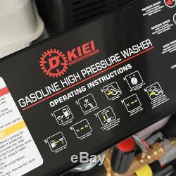 Heavy Duty 15hp Jet Nettoyeur Haute Pression Nettoyeur De Benzine 4800psi Machine