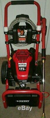 Husky 2600 Psi Power Washer Kohler Courage Xt-7 173cc Ohv
