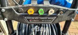 Impressionnant De Puissance T-max De Pression D'essence Laveuse 8.0hp Pro 28 Flexible Compteur