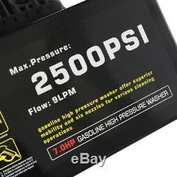 Jet Laveuse 3950 Psi 6.5hp Essence Puissance Nettoyeur Haute Pression 200 Bars 9l / Min Avec Roue