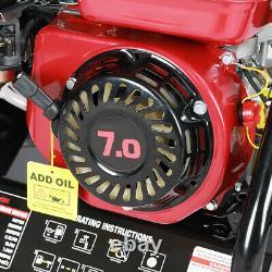 Jet Petrol Machine À Laver Haute Pression Nettoyeur Moteur 8 HP 3950psi Power Wheel Portable