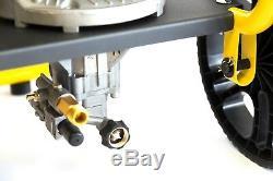Jet Pression Puissance Essence Laveuse Portable 3100psi Waspper Avec Pistolet Et Tuyau