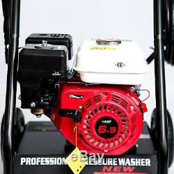 Jet Washer Laveuse À Pression À Essence Essence 200 Psi 6.5hp 200 Bar