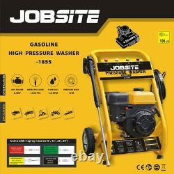 Jobite Machine À Laver À Pression D'essence 2200 Psi 6.5hp High Power Jet 4 Stroke Garden Car