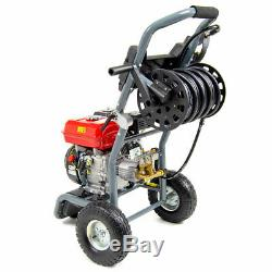 King Power Petrol Nettoyeur Haute Pression 265bar / 3843psi 7hp Engine Power Nettoyant Jet