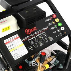 L'agriculture 250bar / 3600psi 15hp Essence Puissance Nettoyeur Haute Pression Jet Cleaner Entrepreneur