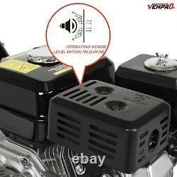 Lave-eau À Pression D'essence Electric Start Power Jet 3950psi/272bar 6.5hp 8m Tuyau