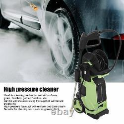 Lave-linge Électrique Haute Pression 150bar/2200psi Power Jet Lavage Nettoyeur Patio