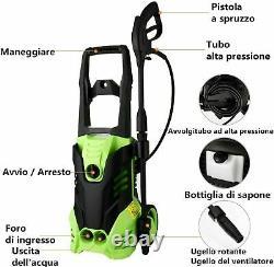 Lave-linge Électrique Haute Pression 3000 Psi/150 Bar Power Jet Water Car Patio Cleaner