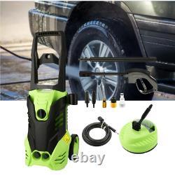 Lave-linge Électrique Haute Pression 3000psi Power Jet Wash Patio Car Cleaner