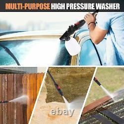 Lave-linge Électrique Haute Pression 3500 Psi/150 Bar Power Jet Water Patio Car Cleaner