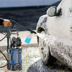 Lave-linge Électrique Haute Pression 3500 Psi 2,6gpm Nettoyeur D'eau Patio Car Jet
