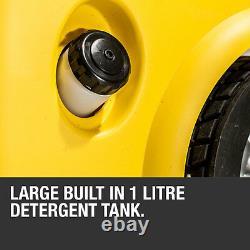 Lave-linge Électrique Haute Pression 3800psi Power Jet Wash Patio Car Cleaner