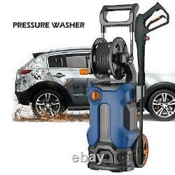 Lave-linge Électrique Haute Pression Machine À Eau Patio Car Jet Cleaner 3500 Psi