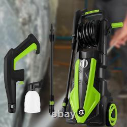 Lave-linge Électrique Haute Pression Puissance 3500 Psi/150 Bar Jet Water Patio Car Cleaner