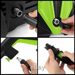 Lave-pression Électrique3500 Psi/150 Bar Laver À Jet Haute Puissance Pour Patio Home Car