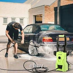 Lave-pression Électrique 1520psi/120 Bar Eau High Power Jet Wash Patio Car Nouveau